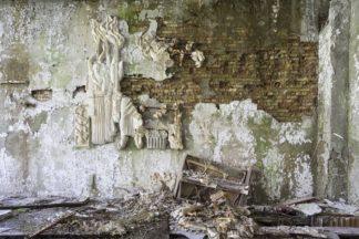 abandoned piano photography, Ukraine