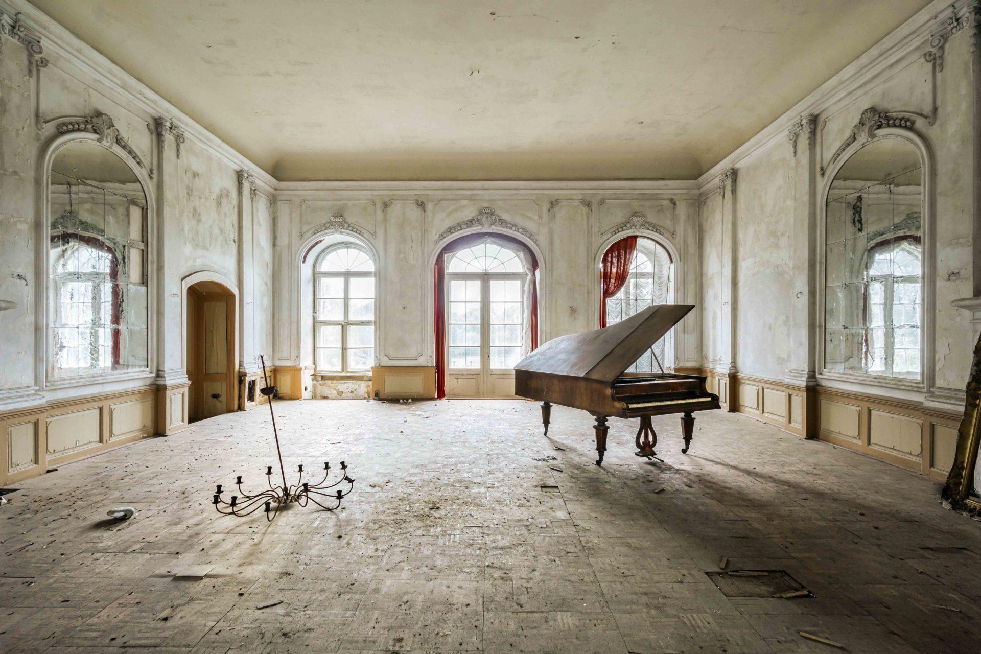Requiem pour pianos 32 | Serie Requiem pour pianos | Romain Thiery