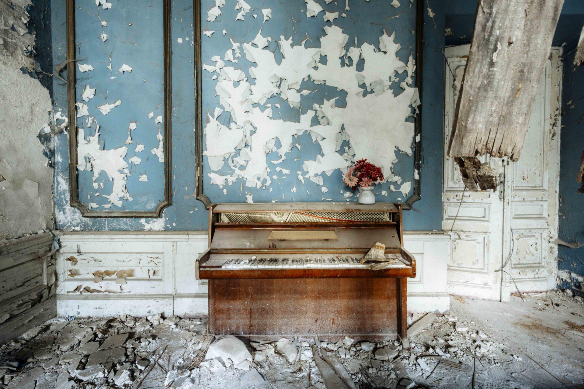 Requiem pour pianos 47 | Serie Requiem pour pianos | Romain Thiery | Poland
