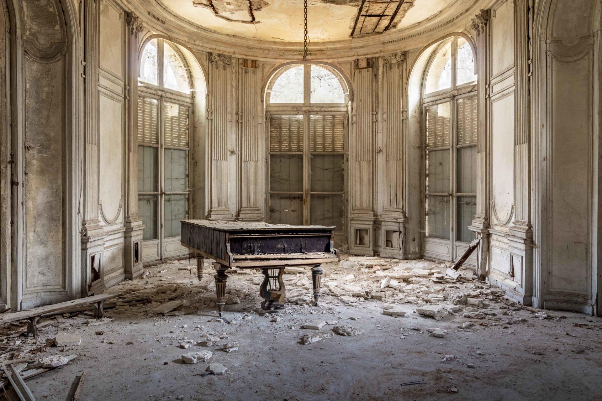 Requiem pour pianos 7 | Serie Requiem pour pianos | Romain Thiery