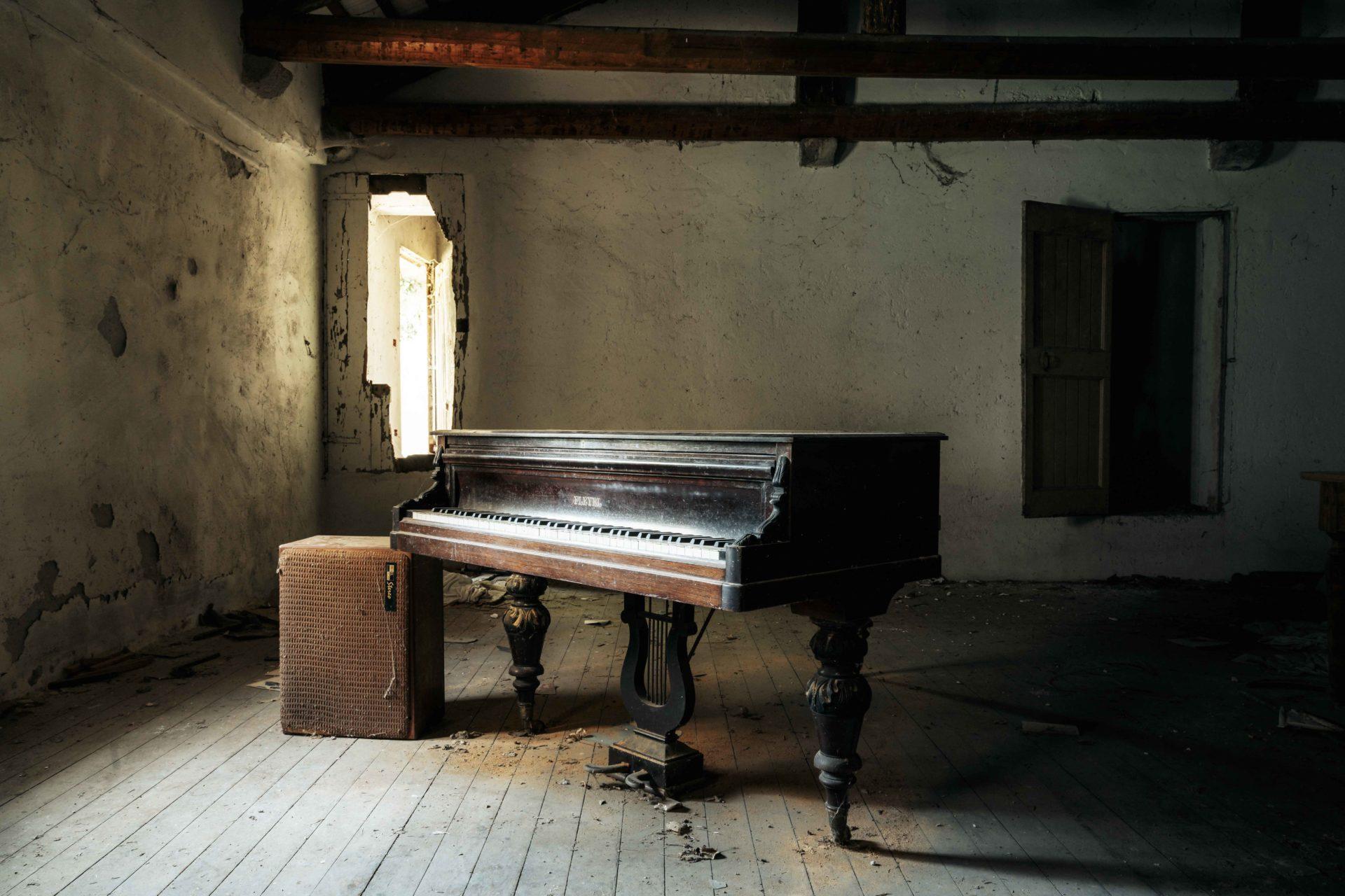 Requiem pour pianos 95 | Serie Requiem pour pianos | Romain Thiery