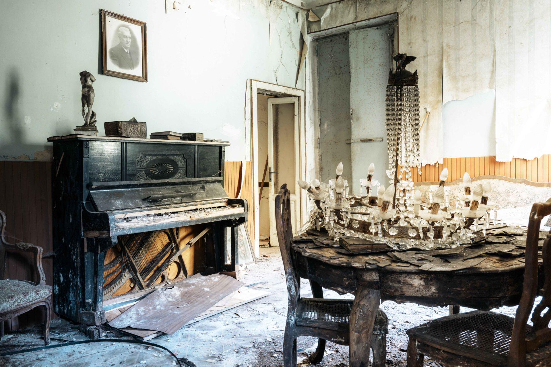 Requiem pour pianos 96 | Serie Requiem pour pianos | Romain Thiery