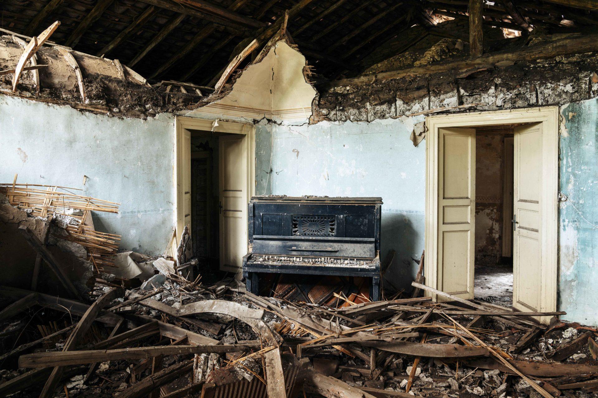 Requiem pour pianos 99 | Serie Requiem pour pianos | Romain Thiery