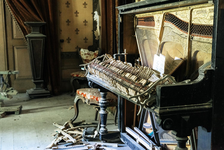 Requiem pour pianos 37 | Serie Requiem pour pianos | Romain Thiery